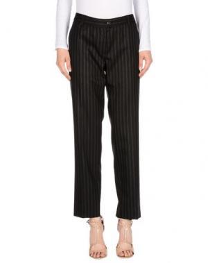 Повседневные брюки METRADAMO. Цвет: стальной серый
