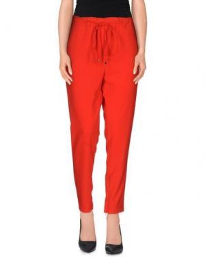 Повседневные брюки ALFONSO RAY. Цвет: красный