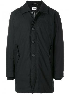Стеганое пальто Edwin. Цвет: чёрный