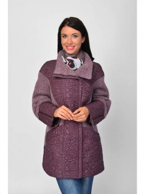 Куртка Maria Velada. Цвет: сиреневый
