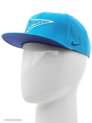 Кепка ZENITH CORE CAP Nike. Цвет: голубой
