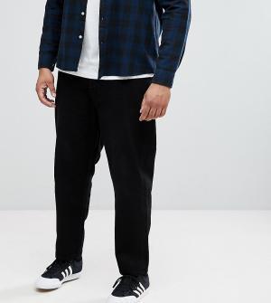 ASOS Черные расклешенные джинсы PLUS. Цвет: черный