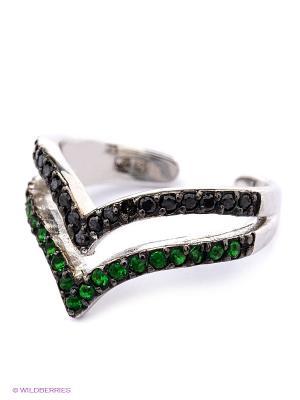 Фаланговое кольцо JV ДЖЕЙ ВИ. Цвет: серебристый