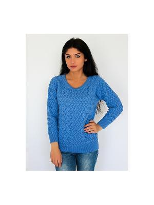Джемпер Wooly's. Цвет: синий