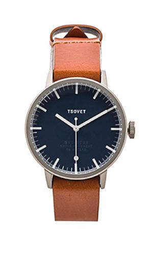 Часы svt-sc38 Tsovet. Цвет: коньячный