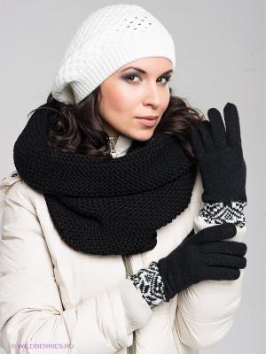 Пеpчатки Modo. Цвет: черный, белый