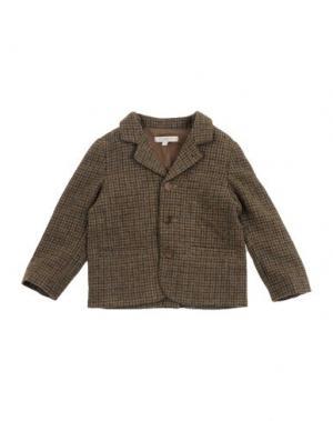 Пиджак CARAMEL BABY&CHILD. Цвет: зеленый-милитари