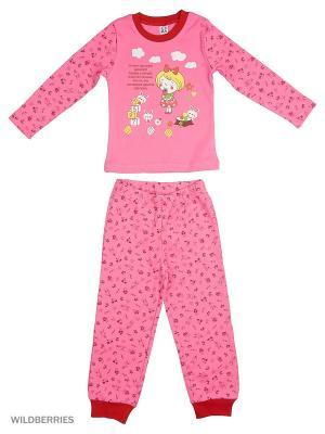 Пижама K&R BABY. Цвет: красный