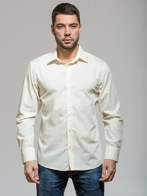 Рубашка John Jeniford. Цвет: бежевый