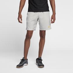 Мужские теннисные шорты Court Dri-FIT 23 см Nike. Цвет: серый