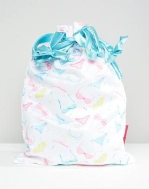 Bombay Duck Дорожная сумка для нижнего белья. Цвет: мульти