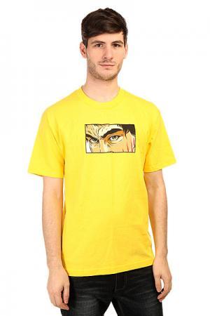 Футболка  Fury Yellow Plan B. Цвет: желтый