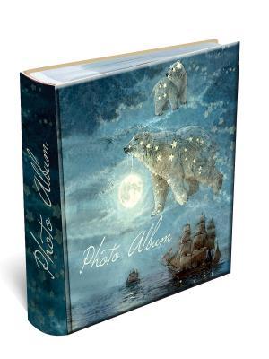 Фотоальбом БОЛЬШАЯ МЕДВЕДИЦА  (24*29см, 20 магнитных листов) Magic Home. Цвет: синий