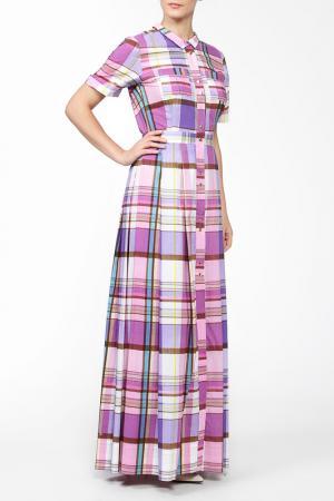 Платье MSW ATELIER. Цвет: фиолетовый