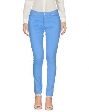 Повседневные брюки LACOSTE L!VE. Цвет: лазурный