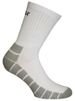 Носки Master Socks. Цвет: белый, серый