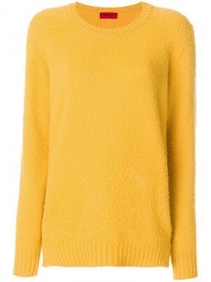 Джемпер Clara The Gigi. Цвет: жёлтый и оранжевый
