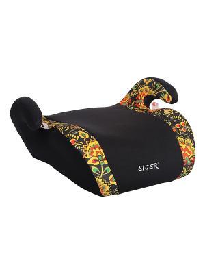 Детское автомобильное кресло ART Мякиш плюс SIGER. Цвет: серебристый