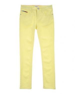 Джинсовые брюки TOMMY HILFIGER DENIM. Цвет: желтый