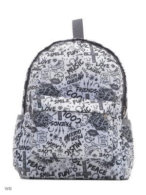 Рюкзак детский L.Bags. Цвет: черный, серый
