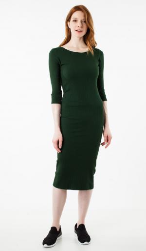 Платье С Рукавом 3/4 48 ТВОЕ. Цвет: зеленый