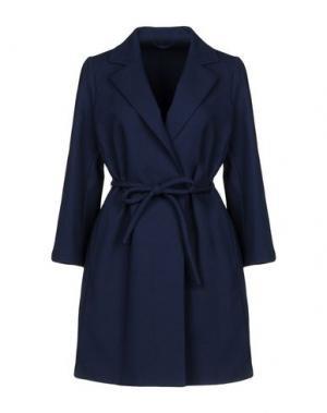 Легкое пальто SALCO. Цвет: темно-синий