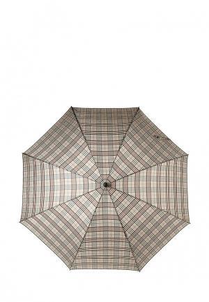 Зонт-трость Eleganzza. Цвет: серый