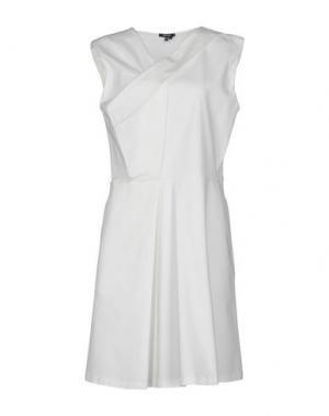 Короткое платье RAOUL. Цвет: белый