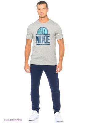 Брюки M NSW JOGGER FLC AIR HYB Nike. Цвет: синий