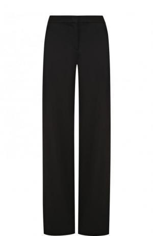 Однотонные расклешенные брюки со стрелками La Perla. Цвет: черный