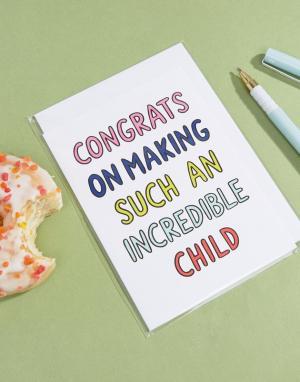 Veronica Dearly Поздравительная открытка. Цвет: мульти