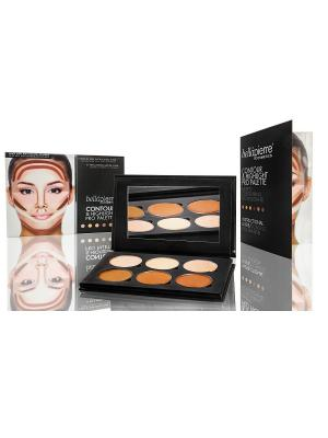 Bellapierre cosmetics TEP010 Компактная палитра для моделирования лица. Цвет: бежевый