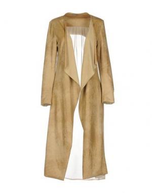Легкое пальто DIXIE. Цвет: бежевый