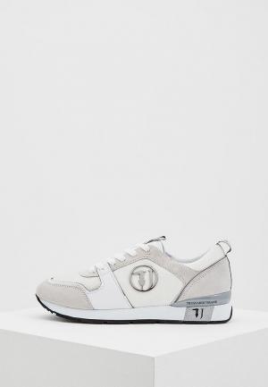 Кроссовки Trussardi Jeans. Цвет: белый