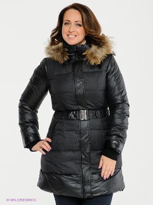 Пальто Neohit. Цвет: черный