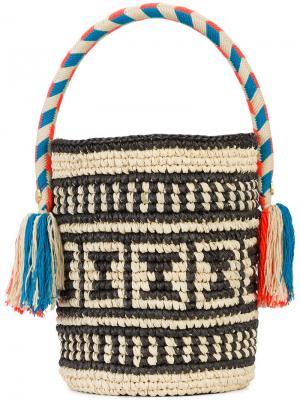 Маленькая сумка-ведро Chika Yosuzi. Цвет: чёрный