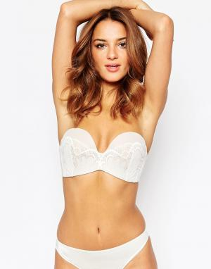 Wonderbra refined glamour ultimate strapless lace bra a. Цвет: бежевый