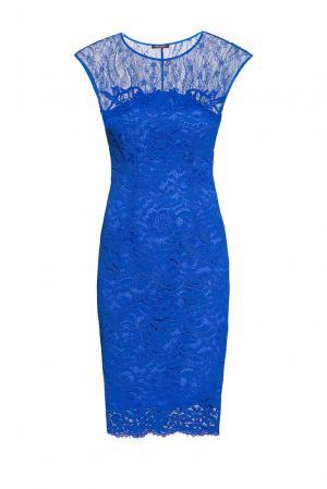 Кружевное платье 186250 Cristina Effe. Цвет: синий