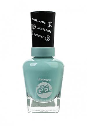 Гель-лак Sally Hansen. Цвет: голубой