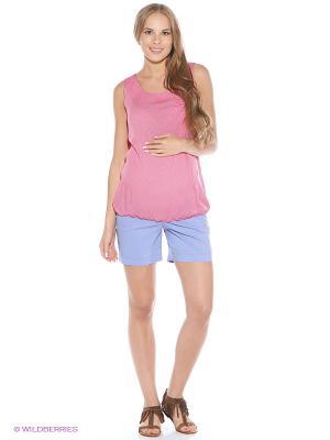 Блузка для беременных impressmama. Цвет: розовый