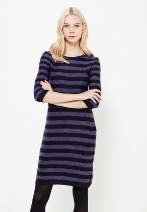 Платье Vay. Цвет: синий