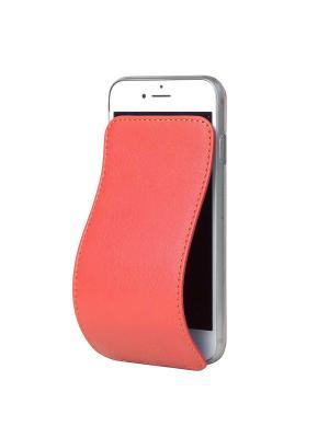 Чехол для iPhone 7 Marcel Robert. Цвет: светло-коралловый, коралловый
