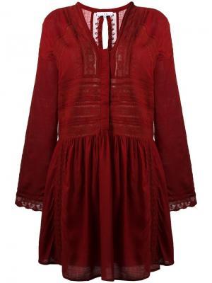 Платье Kelena Iro. Цвет: красный