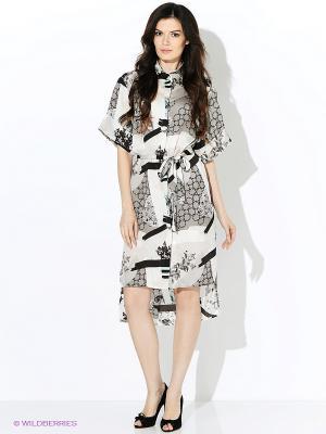 Платье Vittoria Vicci. Цвет: черный, молочный