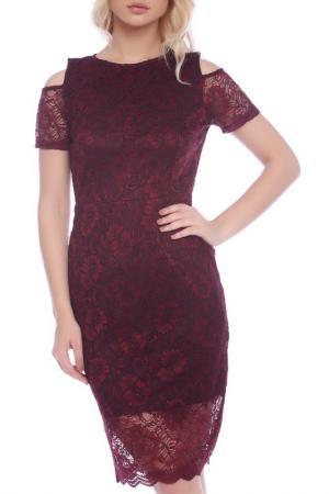Платье Emma Monti. Цвет: bordo