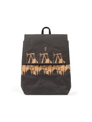 Рюкзак FUN GRAFFITI PACK KRAFT. Цвет: черный