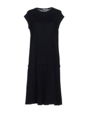 Короткое платье MA'RY'YA. Цвет: темно-синий