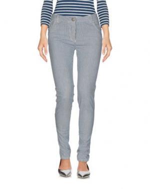 Джинсовые брюки ANDREA MORANDO. Цвет: небесно-голубой