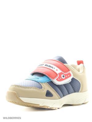 Ботинки San Marko. Цвет: бежевый