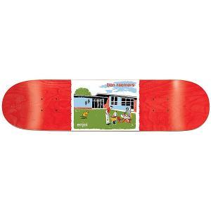 Дека для скейтборда  Raemers Dog Pooper Bbq 31.7 x 8 (20.3 см) Enjoi. Цвет: мультиколор,красный